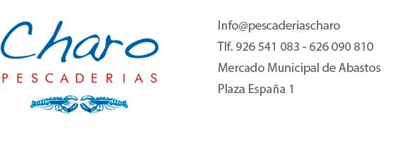 Pescaderias Charo. Pescadería y Marisquería en Alcazar de San Juan – Ciudad Real