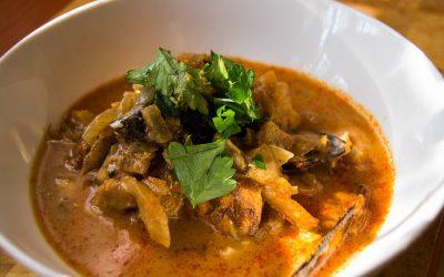 Sopa de pescado… ¡deliciosa!
